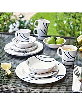 Melamine Outdoor Dining Set 16pc