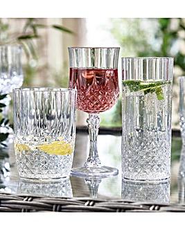 Crystal Effect Glasses HiBall