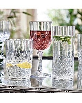 Crystal Effect Glasses Tumblers
