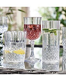 Crystal Effect Glasses Tumblers