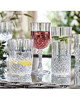 Crystal Effect Glasses Wine