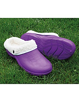 Fleece Lined Lightweight Clogs