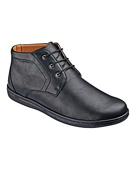 Cushion Walk Mid Lace Up Boot Wide Fit