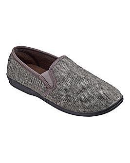 Cushion Walk Tweed Slipper Standard Fit