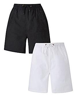 2Pk Woven Shorts
