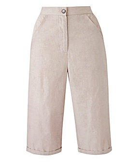 Basic Cropped Trousers