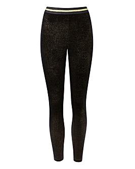Glitter Stretch Jersey Leggings
