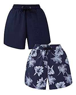 Pack of 2 Jersey Shorts