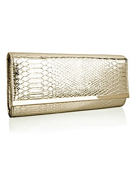 Together Snake Clutch Bag