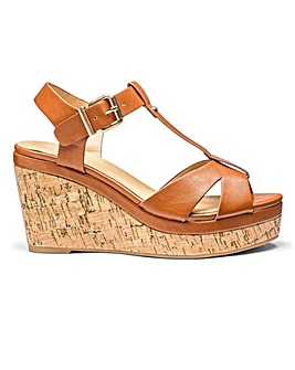 Sole Diva Willow Wedges E Fit