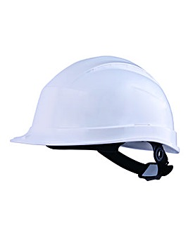 DeltaPlus White Safety Helmet