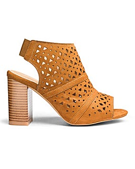 Sole Diva Laser Cut Shoe Boots E Fit