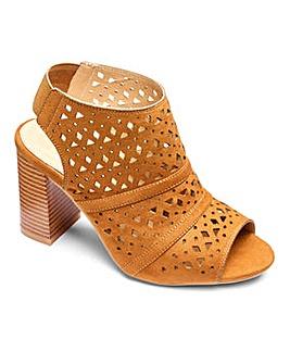 Sole Diva Laser Cut Shoe Boots E Fit