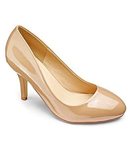 Sole Diva Basic Court Shoe EEE Fit