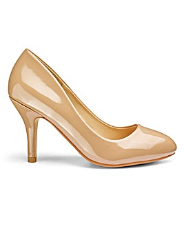 Sole Diva Basic Court Shoe EEE Fit