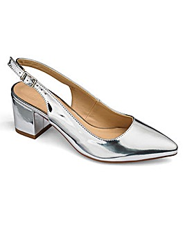 Sole Diva Slingback Point Shoes EEE Fit