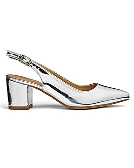 Sole Diva Slingback Point Shoes E Fit