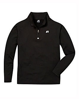 Russell Athletic Half Zip Comfort Top