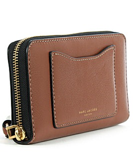 Marc Jacobs  Cognac Leather Wallet
