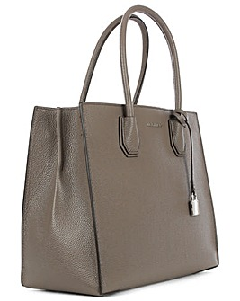 Michael Kors Grey Large Satchel Tote