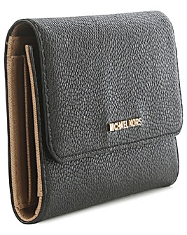 Michael Kors Black Tri-Fold Wallet