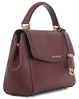 Michael Kors Small Leather Satchel Bag