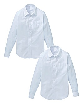 Boys Pack of Two Long Sleeve Shirts