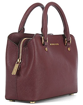 Michael Kors Saffiano Satchel Bag