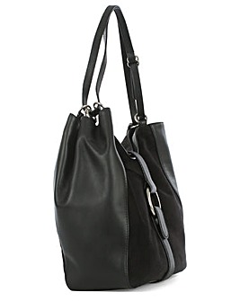 Michael Kors Black Shoulder Tote Bag