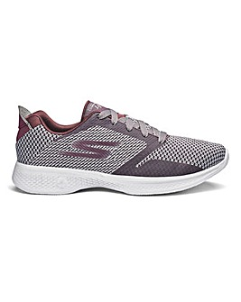 Skechers Go Walk 4 Knit Lace Up Trainers