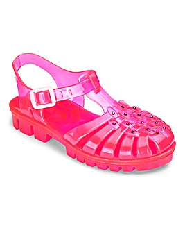TKD Girls Jelly Sandals