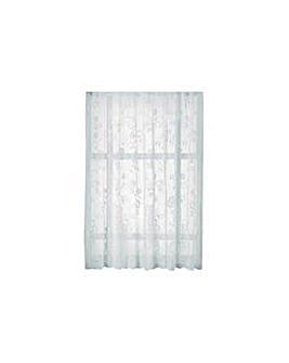 Slot Top Lace Panel - 150x137cm - White