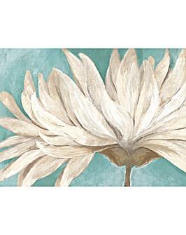 Arthouse Teal Painted Daisy Canvas