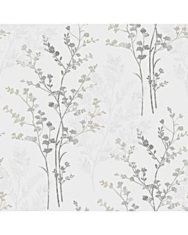 Arthouse Fern Motif Wallpaper