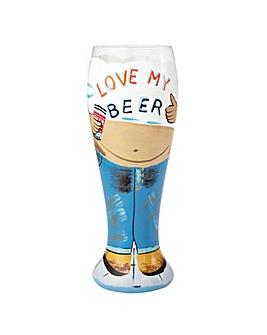 Lolita Beer Belly Beer Glass