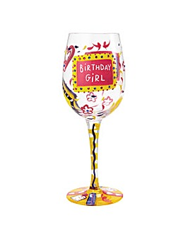 Lolita Birthday Girl Standard Wine Glass