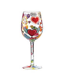 Lolita Heart-rageous Standard Wine Glass