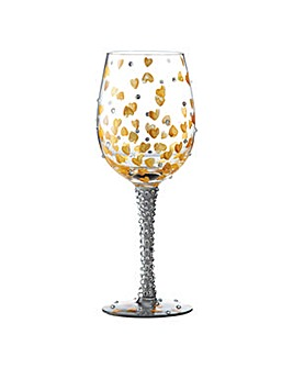 Lolita Heart of Gold Standard Wine Glass