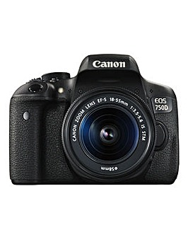 Canon EOS 750D SLR Camera 18-55mm IS