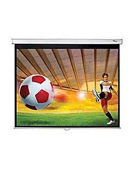 Optoma 84 inch Manual Projection Screen
