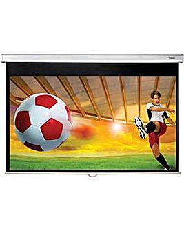 "Optoma DS-9092PWC 92"" Manual Screen"