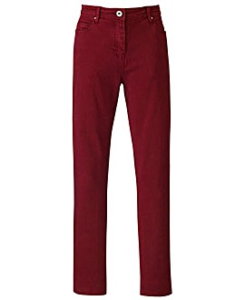 Simply Be Coloured Slim Leg Jeans Reg