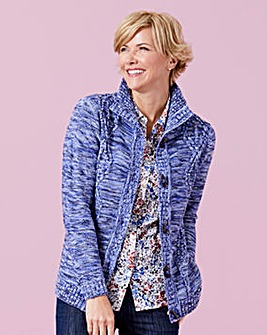 Cardigan with Duffle Fastening