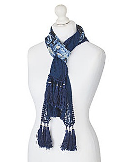 Together Print Scarf
