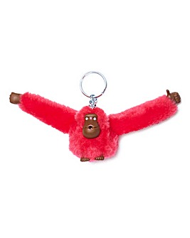 Kipling Small Red Monkey Keyring