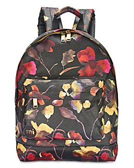 MI PAC Watercolour Floral Rucksack
