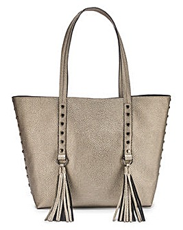 Joanna Hope Metallic Shopper Bag