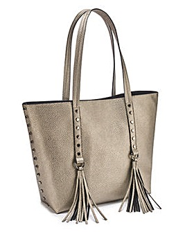 Joanna Hope Metallic Shopper