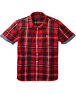 Jacamo Check S/S Shirt Regular