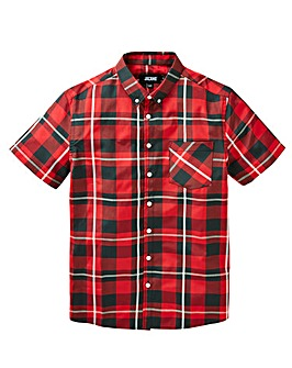 Jacamo Check S/S Shirt Long